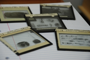 Glass lantern slides from the collections at the Institute of Archaeology, University College London