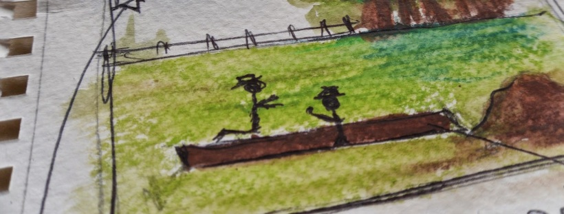 Detail of a storyboard produced by a team of heritage practice students at the University of York