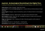 #digiTAG2 - Afternoon speakers, 13:40-17:20, Tuesday 20 Dec