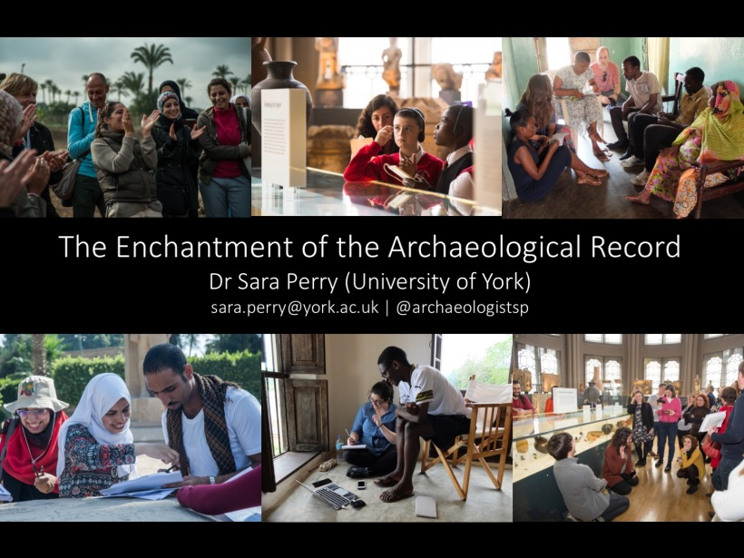 Sara Perry @archaeologistsp #1